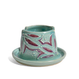 AshenWren Ceramics Sponge Holder, Teal