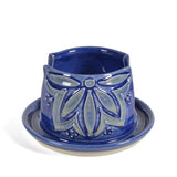 AshenWren Ceramics Sponge Holder, Blue