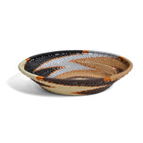 Fair Trade Zulu Telephone Wire Small Oval Basket, Mocha