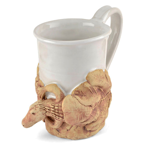 Charlestowne Porcelaine Alligator Mug, Handmade in the USA