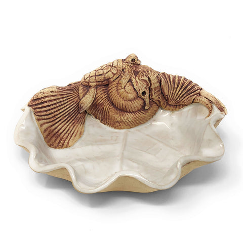 Charlestown Porcelaine Sea Creatures Soap Dish