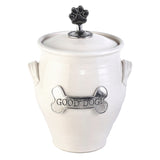 Oregon Stoneware Studio Dog Treat Jar - The Barrington Garage