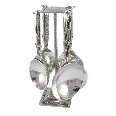 Crosby and Taylor Dragonfly Pewter Measuring Cups with Display Post - The Barrington Garage