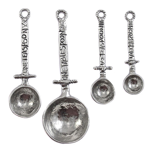 Crosby and Taylor Celtic Pewter Measuring Spoons - The Barrington Garage