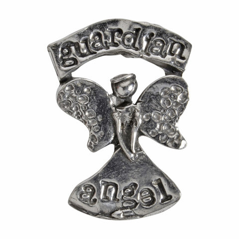 Crosby and Taylor Guardian Angel Pewter Pocket Token