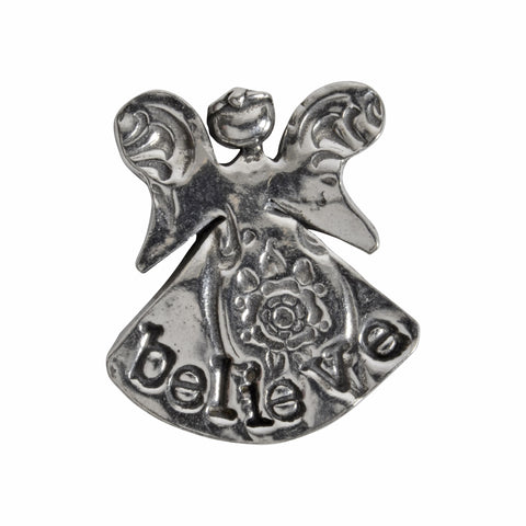 Crosby and Taylor Faith Angel Pewter Pocket Token