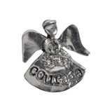 Crosby and Taylor Courage Angel Pewter Pocket Token