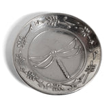 Crosby & Taylor Dragonfly Pewter Teabag Holder Trinket Dish