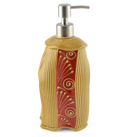 Creative with Clay Dancing Soap Lotion Dispenser