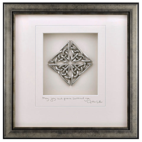 Cynthia Webb Designs Celtic Knot Pewter Wall Art, Antique Silver ...