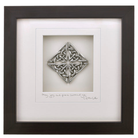 Cynthia Webb Designs Celtic Knot Pewter Wall Art - The Barrington Garage
