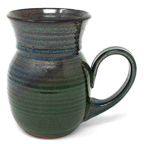 Clay Path Studio Morning Glory Handmade American Pottery Mug