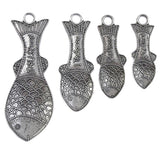Crosby & Taylor Fish Pewter Measuring Spoons, MS1