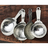 Crosby and Taylor Honeybee Pewter Measuring Cups and Spoons Super Post Set