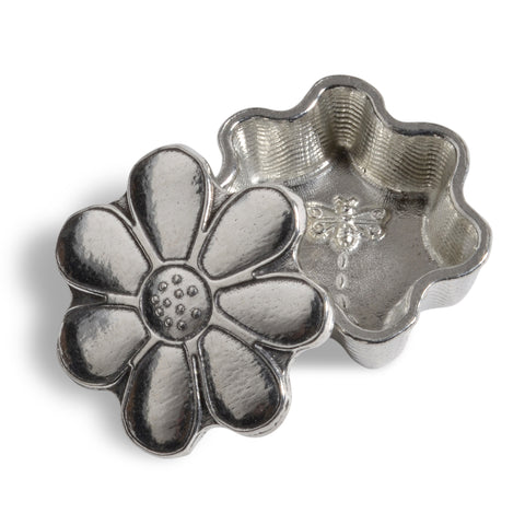 Crosby & Taylor Daisy and Dragonfly Tiny Pewter Sentiment Box