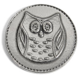 Crosby & Taylor Owl Always Love You Pewter Sentiment Coin