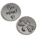 Crosby & Taylor Bee Mine with Heart Pewter Sentiment Coin