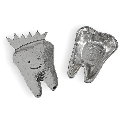 Crosby & Taylor 1st Tooth Tiny Pewter Sentiment Box