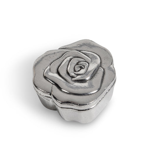 Crosby & Taylor Rose Tiny Pewter Sentiment Box