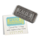 Cynthia Webb Designs Hug Coupon Pewter Sentiment Gift