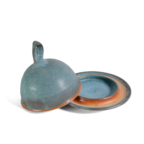 Dock 6 Pottery Butter Bell, Turquoise - The Barrington Garage