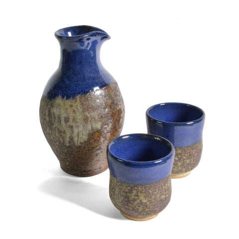 Dock 6 Pottery 3-piece Sake Set - The Barrington Garage
