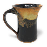 Dock 6 Pottery Mug, Toasted Marshmallow Black Cream