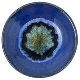 Dock 6 Pottery Small Wasabi/Trinket Dish with Fused Glass