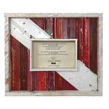 Dryads Dancing Diver Down Reclaimed Wood 4 x 6 Photo Frame, Red/Multi