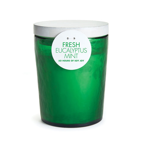 Napa Home & Garden Fresh Soy Wax 50-hour Candle, Eucalyptus Mint