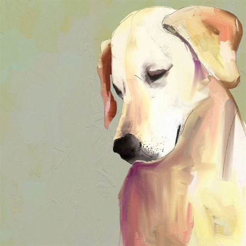 Best Friend Yellow Lab by Cathy Walters Canvas Wall Art