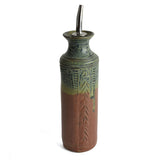 Holman Pottery Handmade Oil Bottle - The Barrington Garage
