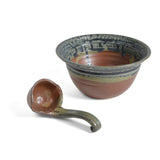 Holman Pottery Salsa Bowl with Ladle