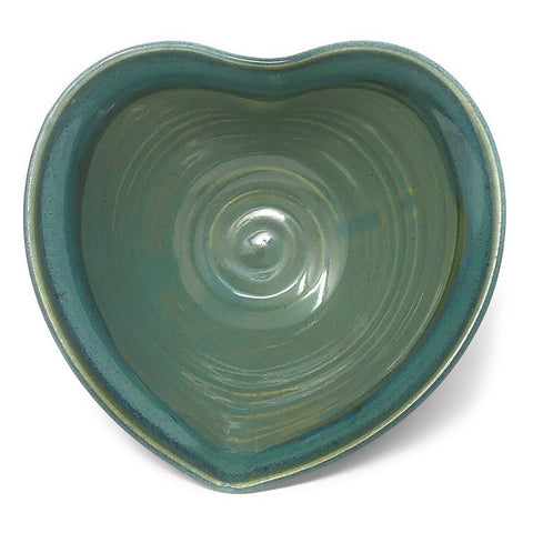 Holman Pottery Heart Shaped Bowl
