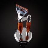 Imperium Shaving The Ace Handmade Rosewood 2-Piece Shave Set