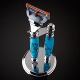 Imperium Shaving The Sedona Handmade Turquoise Stone 2-Piece Shave Set