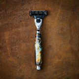 Imperium Shaving The Terra Handmade Marbleized Acrylic 2-Piece Shave Set
