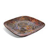 John Hutson Pottery Butterfly Square Dinner Plate - The Barrington Garage