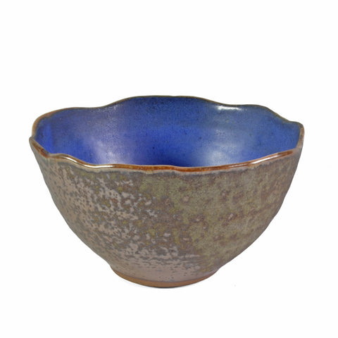 Kerry Brooks Pottery 6-inch Wavy Edge Bowl - The Barrington Garage