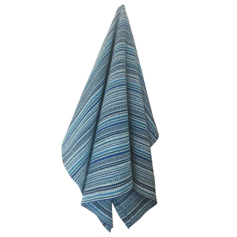 Loomination Handwoven 100% Cotton Tea Towel, Modern Stripe
