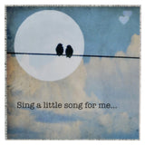 "MKC Photography Sing a Little Song for Me 5"" x 5"" Art Block - The Barrington Garage"