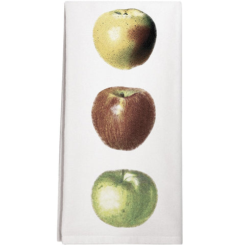 Montgomery Street Apples Cotton Flour Sack Dish Towel - The Barrington Garage