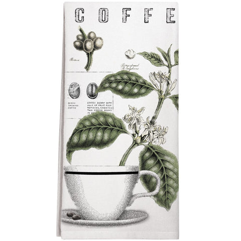 Montgomery Street Coffee Bean Cotton Flour Sack Dish Towel - The Barrington Garage
