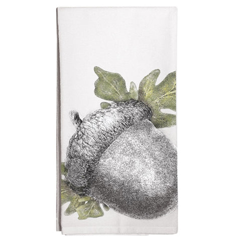 Montgomery Street Acorn Cotton Flour Sack Dish Towel - The Barrington Garage