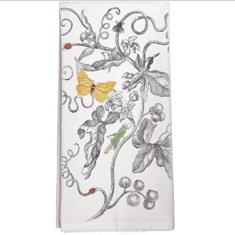 Montgomery Street Vines Cotton Flour Sack Dish Towel - The Barrington Garage