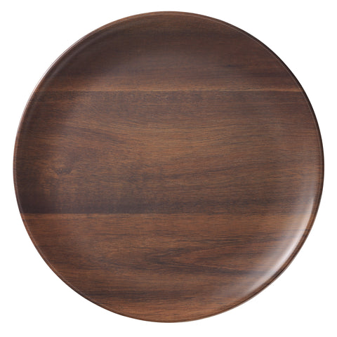 Merritt Rosewood Melamine Plates, Set of 6 - The Barrington Garage