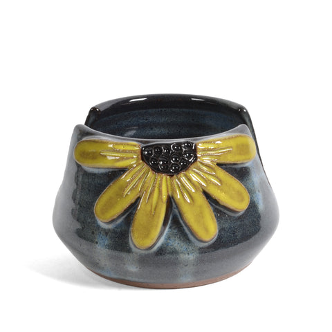 MudWorks Pottery Black-Eyed Susan Sponge Holder