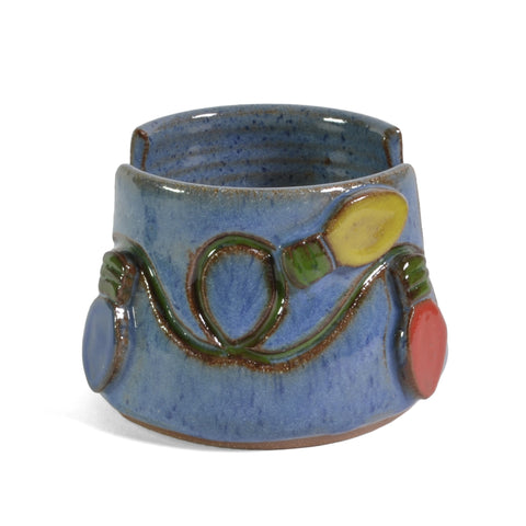 MudWorks Pottery Christmas Lights Sponge Holder - The Barrington Garage