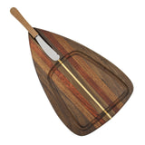 Mystic Woodworks Cheese Board with Spreader - The Barrington Garage
