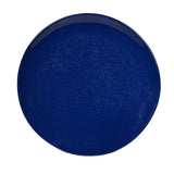 Merritt Silver Shell Blue Sparkle 8-inch Melamine Salad Plate, Set of 6